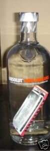 Absolut New Orleans 2007 Mango Black Pepper Vodka 750ML 120390981830 - Foxy Roxy Collectables