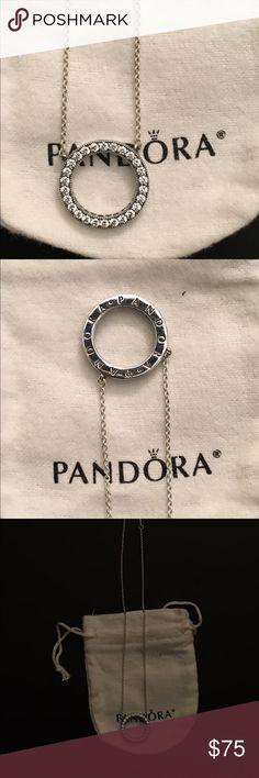 Pandora Signature necklace Brand new never worn. Pandora signature necklace. Accessories