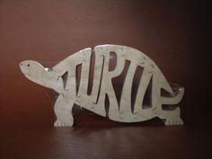 Wooden turtle puzzle @Emily Schoenfeld Lee