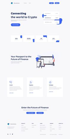 Hello Creative People Blockchain UI redesign Landing page. Please have a look at the attachment and Inspire me by leaving a comment. Form Design Web, Flat Web Design, Creative Web Design, Web Design Trends, App Design, Report Design, Mobile Design, Website Design Inspiration, Website Design Layout