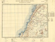Mapa del África Occidental Española de 1949 a escala 1img-2.jpg (2468×1884)