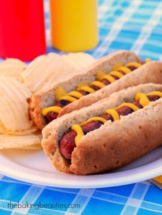 Get ready to grill with these Gluten Free Hot Dog or Hamburger Buns (recipe uses gluten free oat flour) - Faithfully Gluten Free