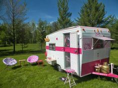Adorable Kitty Campers - This Hello Kitty Camping Mobile Makes Camping Cute and Comfortable