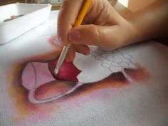 Efeito transparência - pintura em tecido  parte 1/2 - transparency effec...