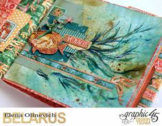 Nautical Album, by Elena Olinevich, Voyage Beneath the Sea, Product by Graphic45, Photo8.jpg