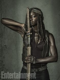 'The Walking Dead': Exclusive EW Portraits | Danai Gurira | EW.com