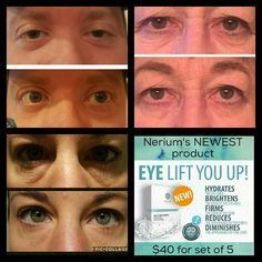 The new eye v hydrogel patch from nerium! It's here the wait is over!!!