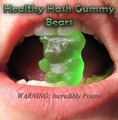 hash gummy bears.