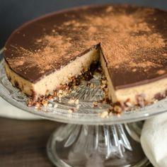 Paleo Snickers Cheesecake (grain free, dairy free)
