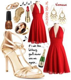 Vanessa inspired outfit from In The Heights!
