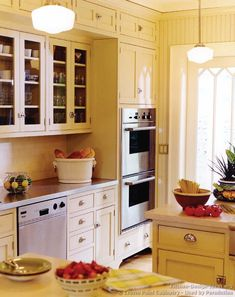 Superior Inset Cabinet Doors, Storage To The Ceiling... Victorian Kitchen Cabinets  #06