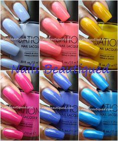 Nails Beautiqued: Sation | Candylandia Collection