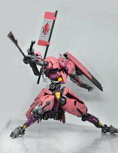 Kits used: Grimgerde, Hyakuren, parts from Sazabi ver Ka. Paint used: Zurc's char red (light and dark), rd Gundam Wing, Gundam Art, Character Concept, Concept Art, Samurai Concept, Aliens, Gundam Iron Blooded Orphans, Gundam Wallpapers, Gundam Custom Build