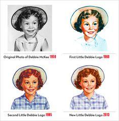 advertisingpics:   Little Debbie through the... - Retro Days