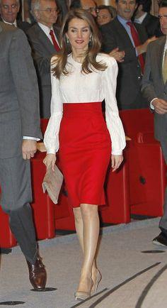 La princesa Letizia, looks de 2013