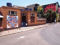 Hidden Trophy, new public art piece by r1 - Graffiti South Africa