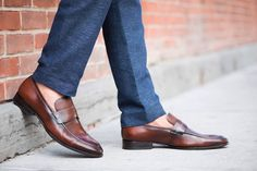 "PairofKingsShoes.com famous fashion forward handmade leather shoes! Celebrating there 1 year anniversary. Use promo code ""anniversary"" at checkout and enjoy your pair of kings at 40% off. Limited time offer. @pairofkingsshoes by mensfashionreview"