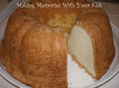 Grandmother Paul's Sour Cream Pound Cake--From Paula Dean