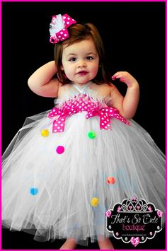 This would make for an adorable birthday dress