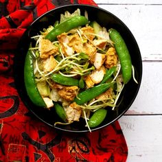 csirke, saláta, indiai Ethnic Recipes, Food, Essen, Meals, Yemek, Eten