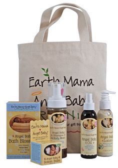 Earth Mama Angel Baby~ baby, kids, & mama products with zero toxins! Just about I use on baby girl. : )