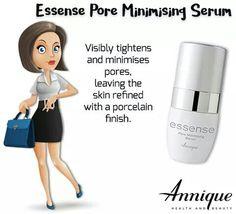 #skincare #annique #essenserange #sensitiveskin #minimisingpores Pore Minimizing Serum, Minimize Pores, Sensitive Skin, Health And Beauty, Healthy Lifestyle, Skin Care, Beauty Products, Tips, Cosmetics