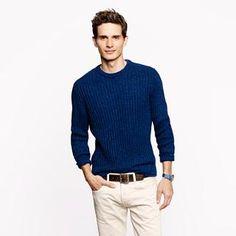 Wallace & Barnes indigo sweater - wallace & barnes - Men's sweaters - J.Crew