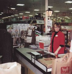 If you see this image on (any particular)Facebook group it is STOLEN STOLEN STOLEN!!   One group has ruined it by ignoring and arguing with me about my request to no longer use my photos.  Here are a couple shots of the Rockton Plaza Loglis (Now Schnucks) in 1990.