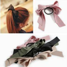 Min.order is $10(mix order)Free Shipping 2013 New Ribbon Bowknot Elastic Hair Band Bracelet $1.78