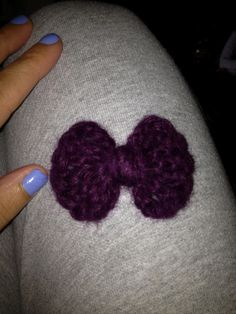 The Adventures of a Girl Called Me: The One Where I Crochet a Hair Bow