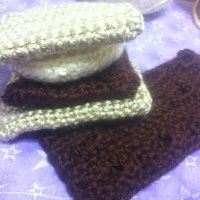 Chocolate Bar and S'mores Crochet Pattern | non sequitur