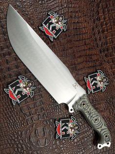 Busse Combat Custom Shop INFI War Train Fusion WTF BlkTan G10 Unused Knife
