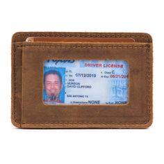 Front Pocket ID Wallet - Leather ID Wallet | Saddleback Leather Co.