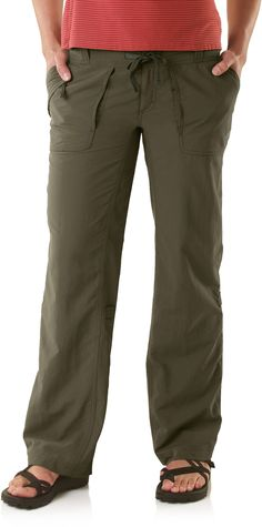 The North Face roll-up pants... $55