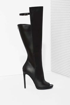Shoe Cult Meari Knee High Boot - Heels | Knee High | Shoes