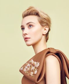 http://www.kzm.ca/beauty Norman Wong / Sarah Gadon / Beauty / Portrait / Short Hair /