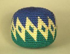 Ravelry: Ball / Hacky Sack pattern by Carol Ventura