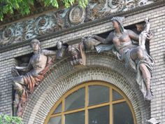 Forgotten treasures - Olof Palme House Budapest For more than a hundred years the Városliget or City Park has been the place in Budapest where visitors can enjoy a number of cultural, educational and. Budapest, Forgotten Treasures, Park City, Art Nouveau, Statue, Deco, House, Deko, Haus