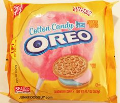Review: Limited Edition Cotton Candy Oreos, The Nosh Show Ep.53 ...