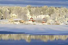 winter in maine | Maine: Late Winter, Naples.