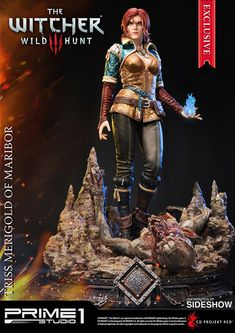 The Witcher 3: Wild Hunt Triss Merigold of Maribor Statue by Prime 1 Studio