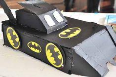 Bat Mobile Valentine Box   25+ Valentine Boxes for boys