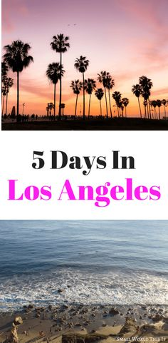How To Plan A Trip To Los Angeles For 5 Days Heading to LA soon? Here Need help creating an Los Angeles itinerary for 5 days and how to make the most of your time in this city? Places To Travel, Travel Destinations, Places To Go, San Diego, San Francisco, Best Beaches To Visit, Road Trip Usa, Usa Roadtrip, Usa Trip