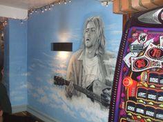 Kurt Cobain murial