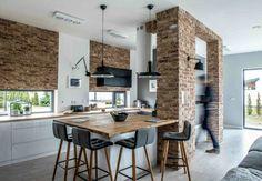 Nordic gray modern home interior design 27