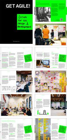 Get Agile!  Scrum for ux, design & development Bookpage