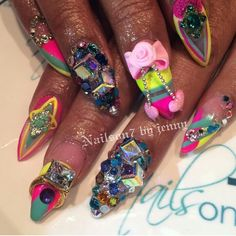 This Nail Art Is Everything!!!