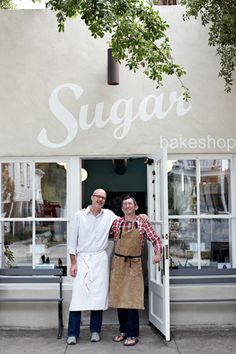 sugar bakeshop | charleston. love the colour