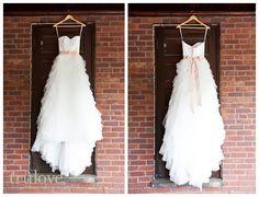 Trulove Photography: Wedding dress. Pink sash