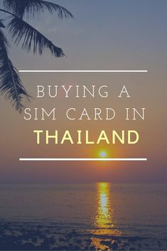 Like the rest of South East Asia, Thailand offers a lot to travelers -- including inexpensive ways of staying connected. Here's how to buy a local SIM card.